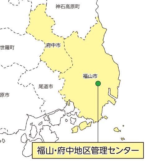 東急コミュニティー担当エリアの拡大画像